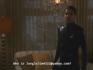 Target, Tumblr, and Blog: Who is JungleJim4322@yahoo.com? parachutesx: sky-media:  this is my favorite line in the history of ahs  always