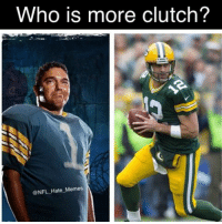 Imma have to take brucie on this one! Who else ? 😂😭 @nfl_hate_memes: Who is more clutch?  NFL Hate Memes Imma have to take brucie on this one! Who else ? 😂😭 @nfl_hate_memes