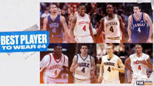 Who is the best college basketball player to rock the No. 4 jersey? 🤔 https://t.co/JVOUeFythx: Who is the best college basketball player to rock the No. 4 jersey? 🤔 https://t.co/JVOUeFythx