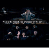Comment what you think was the worst thing she did   -Kreacher: Who is the most hated character in the series? Comment what you think was the worst thing she did   -Kreacher