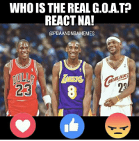 Memes, The Real, and Pba: WHO IS THE REAL G.OATP  REACT NA!  @PBA ANDNBAMEMES  23 Oo nga. Tayo nga rin!