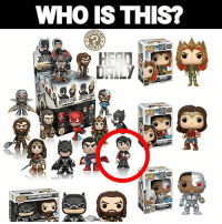 Batman, Memes, and Superman: WHo IS THIS?  IN Original Funko just released their Justice League collection! So I recognize all the heroes and villains but who the heck is this guy in the flannel shirt? Share your thoughts guys. If you don't care then don't comment 😏 justiceleague justiceleaguetrailer superman batman wonderwoman dc dccomics dceu flash cyborg comicbooks comicbookmemes
