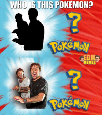 who is this: WHO IS THIS POKEMON?  MEMES