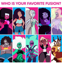 Memes, Impossibility, and 🤖: WHO IS YOUR FAVORITE FUSION?  O O Impossible to choose 😖🤔 StevenUniverse fusions cnvote