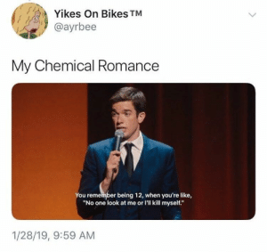 Who knew John Mulaney could so eloquently sum up pop-punk bands? #Memes #JohnMulaney #Music #Twitter: Who knew John Mulaney could so eloquently sum up pop-punk bands? #Memes #JohnMulaney #Music #Twitter