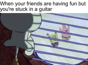 who lives in a guitar under the sea: who lives in a guitar under the sea