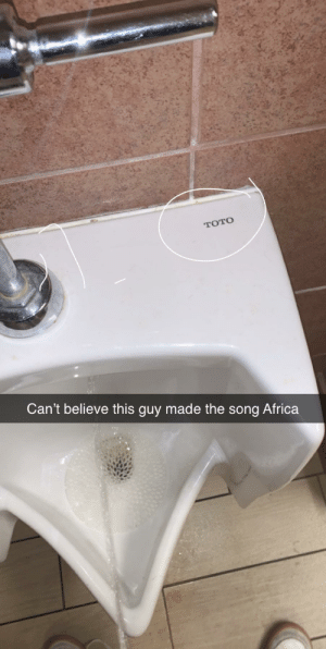 Who made Africa by toto: Who made Africa by toto