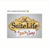 Af, Life, and Lit: who misses this show?  he  Suite Life Zack and Cody was lit af