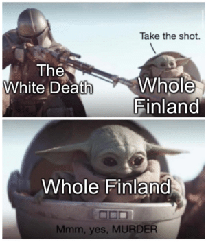 Who needs an army when you have Simo Häyhä ?: Who needs an army when you have Simo Häyhä ?