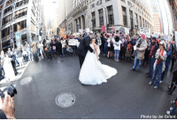 "Memes, 🤖, and Snap: WHO NI  LL  SURVIVE  d  Photo by Jai Girard  11"" IN Chicago couple snaps their wedding photo amid WomensMarch. 👫 (📸 Jai Girard) @abcnews WSHH"