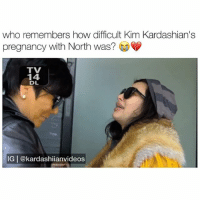 i was so happy when i heard the baby's heart beat 😭♥️ - follow me @kardashiianvideos for more 👈🏼: who remembers how difficult Kim Kardashian's  pregnancy with North was?  TV  TX  14  DL  IG | @kardashiianvideos i was so happy when i heard the baby's heart beat 😭♥️ - follow me @kardashiianvideos for more 👈🏼
