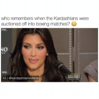 how much money would you spend to box a kardashian? 😂💀 - follow @kardashiianvideos (me) for more 👈🏼💓: who remembers when the Kardashians were  auctioned off into boxing matches?  ing-  SUPER NEW  DASHIAN  IG | @kardashiianvideos  ONLINE.COMBD how much money would you spend to box a kardashian? 😂💀 - follow @kardashiianvideos (me) for more 👈🏼💓