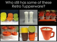 Memes, Tupperware, and 🤖: who still has some of these  Retro Tupperware? #Rememberthis?  ms