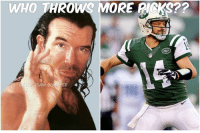 Ryan Fitzpatrick, Who, and Adam: WHO THROWS MORE PICKS??  LACK ADAM SCHSFTER Not 1..not 2...not 3...not 4...not 5...not 6...not 7...not 8...but 9 INT's for Ryan Fitzpatrick over the last 2 weeks