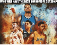 @kporzee: WHO WILL HAVE THE BEST SOPHOMORE SEASON?  NBAMEMES  LAKERS @kporzee