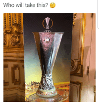 Soccer, Sports, and League: Who will take this? Who will win the Europa League trophy tonight? 👇