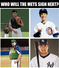 First Tebow, now who?  (@ShooterMcGavin_): WHO WILL THE METS SIGN NEXT First Tebow, now who?  (@ShooterMcGavin_)