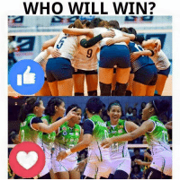 Volleyball, Filipino (Language), and Back: WHO WILL WIN? 4th straight win for the Lady Bulldogs or bounce-back win for La Salle??  :like: - NU <3 - DLSU