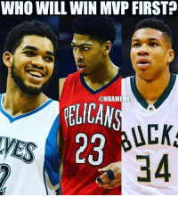 🏀Of these three, who has the best chance of winning MVP first? 🤔 DOUBLE TAP & TAG a friend.🏀 nba nba2k17 nbaplayoffs nbamemes ➡Everyone ADD us on Snapchat 👻 - ballershype ➡TURN ON POST NOTIFICATIONS ➡ FOLLOW my other account @ballershype for NBA news, rumours, videos! ➡ FOLLOW us on Twitter (Link in bio!): WHO WILL WIN MVP FIRST  ONBAMEMES  PELICAN  UCK  28  34 🏀Of these three, who has the best chance of winning MVP first? 🤔 DOUBLE TAP & TAG a friend.🏀 nba nba2k17 nbaplayoffs nbamemes ➡Everyone ADD us on Snapchat 👻 - ballershype ➡TURN ON POST NOTIFICATIONS ➡ FOLLOW my other account @ballershype for NBA news, rumours, videos! ➡ FOLLOW us on Twitter (Link in bio!)