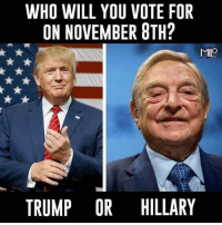 Memes, Trump, and 🤖: WHO WILL YOU VOTE FOR  ON NOVEMBER 8TH?  MILO  TRUMP OR HILLARY