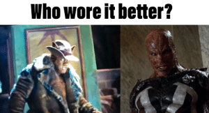 Cats, Reddit, and Who Wore It Better: Who wore it better? Cats V Spawn