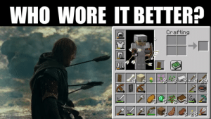 Who Wore It Better, Sean Bean, and Who: WHO WORE IT BETTER?  Crafting When Pewds dies more often than Sean Bean