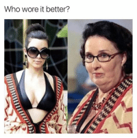 Memes, Who Wore It Better, and Best: Who wore it better? @drgrayfang always slinging the best memes!