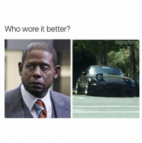 Who Wore It Better, Dank Memes, and Who: Who wore it better?  drgrayfang It's a toss up @drgrayfang