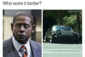 Who Wore It Better, Who, and This: Who wore it better?  drgrayfang Laughed harder at this then i should of.