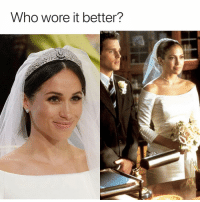 Who Wore It Better, Girl Memes, and Who: Who wore it better? Looks familiar.