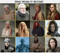 Game of Thrones, Who Wore It Better, and Kit Harington: WHO WORE IT BETTER? Sent in by Roei Biton.   Watch Kit Harington's appearance on Jimmy Kimmel Live! here: https://lerageshirts.com/blog/kit-harington-audition-tapes/