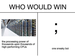 Who would win: Who would win