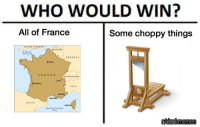 Belgium, France, and Germany: WHO WOULD WIN?  All of France  Some choppy things  UNITED KINGDOM  BELGIUM  English  GERMANY  x Paris  FRANCE  SWITZERLAND |  Lyon  ITALY  Cannes  SPAIN  onkimemes <p>French Revolution ni🅱️🅱️a</p>