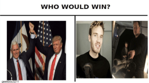 I know that nine year olds can't vote, but this is an obvious choice.: WHO WOULD WIN?  geekboy3211 I know that nine year olds can't vote, but this is an obvious choice.