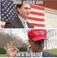 Don't get me wrong, I love Milo and Shapiro both equally but Ben would beat Milo hands down. I feel Milo would start to resort to using ad hominem attacks and in my book that's an automatic loss. There's a reason Milo has dodged Ben for so long. LIKE & TAG YOUR FRIENDS ------------------------- 🚨Partners🚨 😂@the_typical_liberal 🎙@too_savage_for_democrats 📣@the.conservative.patriot Follow: @rightwingsavages & Like us on Facebook: The Right-Wing Savages Follow my backup page @tomorrowsconservatives -------------------- conservative libertarian republican democrat gop liberals maga makeamericagreatagain trump liberal american donaldtrump presidenttrump american 3percent maga usa america draintheswamp patriots nationalism sorrynotsorry politics patriot patriotic ccw247 2a 2ndamendment: WHO WOULD WIN  MAKE ARICA  GREAT AGAN  ai  IN A DEBATE Don't get me wrong, I love Milo and Shapiro both equally but Ben would beat Milo hands down. I feel Milo would start to resort to using ad hominem attacks and in my book that's an automatic loss. There's a reason Milo has dodged Ben for so long. LIKE & TAG YOUR FRIENDS ------------------------- 🚨Partners🚨 😂@the_typical_liberal 🎙@too_savage_for_democrats 📣@the.conservative.patriot Follow: @rightwingsavages & Like us on Facebook: The Right-Wing Savages Follow my backup page @tomorrowsconservatives -------------------- conservative libertarian republican democrat gop liberals maga makeamericagreatagain trump liberal american donaldtrump presidenttrump american 3percent maga usa america draintheswamp patriots nationalism sorrynotsorry politics patriot patriotic ccw247 2a 2ndamendment
