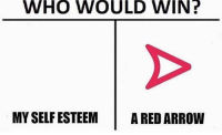 it would be a much better world if pineapple didn't exist tbh: WHO WOULD WIN?  MY SELF ESTEEMA RED ARROW it would be a much better world if pineapple didn't exist tbh