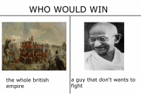 Well this went not as planned https://t.co/Gx1ThL3Bms: WHO WOULD WIN  pi  the whole british  empire  a guy that don't wants to  fight Well this went not as planned https://t.co/Gx1ThL3Bms
