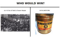 "Meme, Http, and Edge: WHO WOULD WIN?  six million of God's Chosen People  some pesticides <p>Is edge injection a viable method of exploiting proven meme reserves? via /r/MemeEconomy <a href=""http://ift.tt/2uV4JYv"">http://ift.tt/2uV4JYv</a></p>"