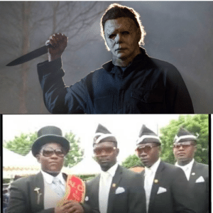 Who would win, the guy with a knife or some african dancers?: Who would win, the guy with a knife or some african dancers?