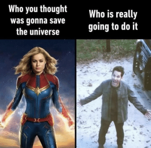31 Dank Memes Fresh from the Net - Funny Gallery: Who you thought  Who is really  going to do it  was gonna save  the universe 31 Dank Memes Fresh from the Net - Funny Gallery