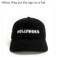 @dadbrandapparel actually put the HOLLYWEED sign on a dad hat, get it for 15% off with my code PABLO15 *link in bio to order*: Whoa, they put the sign on a hat.  HOLLYWee0 @dadbrandapparel actually put the HOLLYWEED sign on a dad hat, get it for 15% off with my code PABLO15 *link in bio to order*