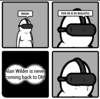 This Vr Is So Realistic: WHOA!  THIS VR IS SO REALISTIC  Alan Wilder is never  coming back to DM