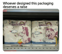 Shit, Unicorns, and Packaging: Whoever designed this packaging  deserves a raise  KARTIKA  ARTIKA  unicom  3  3 Unicorns and shit..