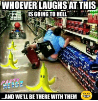 Bruh, Lol, and Memes: WHOEVER LAUGHSAT THIS  IS GOING TO HELL  AND WE'LL BETHERE WITH THEM WHO'S COMING WITH US?? 👹😈🔥🔥🔥🔥 dead 💀💀💀☠ savage mariokart bruh mario lol bruh coins pokemongo supermario 1up nes nintendo luigi smashbros donkeykong mariokart princesspeach partynerdz nerdlife bananas supermarioodyssey switch legendofzelda cosplay cosplayer oldschool gamer