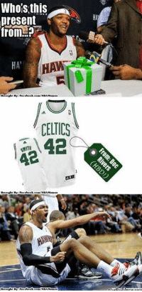 Birthday Meme And Nba Whois This Present From HA CELTICS 42 Happy