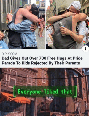 Wholesome hug: Wholesome hug
