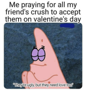 Wholesome Patrick. Good luck this Feb. 14: Wholesome Patrick. Good luck this Feb. 14