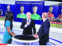Soccer, Got, and Debate: Who's got the better goalkeeper?  o,2 Throwback to this debate on whether Karius is better than De Gea. https://t.co/NGA70hNEN6