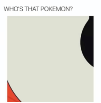 They don't want you to catch em all: WHO'S THAT POKEMON? They don't want you to catch em all