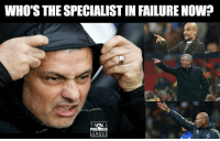 Memes, Premier League, and Failure: WHO'S THE SPECIALIST IN FAILURE NOW?  TRALL  PREMIER  LEAGUE